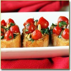 рецепт блюда из помидоров